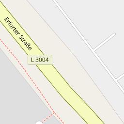 Erfurter Straße 72 Einrichtungshaus Schulze Stadtplan Ilmenau